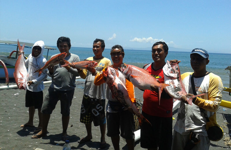 Shino Fishing Team at Gianyar, Bali
