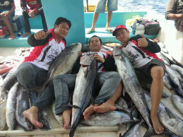 Shino Fishing Team at SMR, Lampung