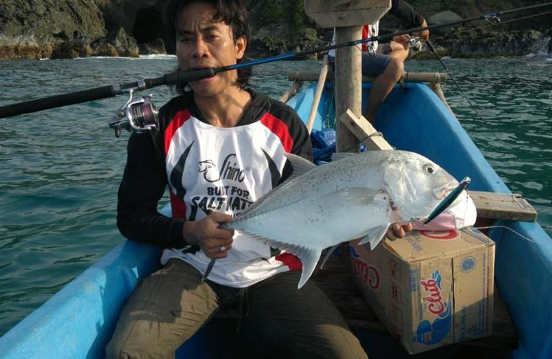 Shino Fishing Team at Sukabumi